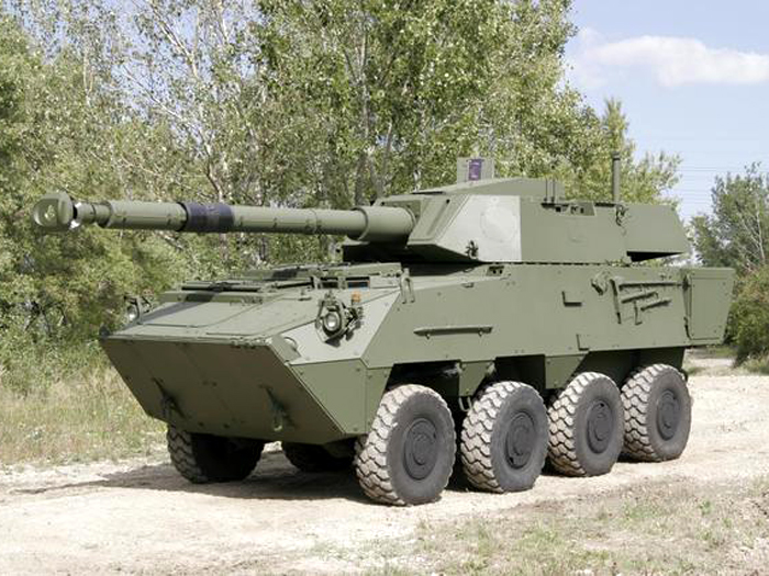 Pandur II 8×8 FSV 105 mm.