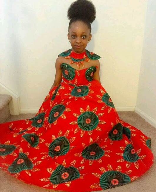 Check Out The Most Amazing Ankara Outfit For Kids