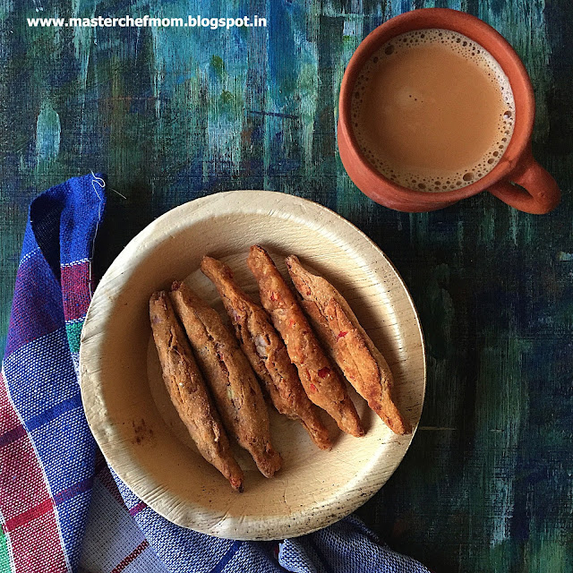 Assamese Baked Savoury  Kordois