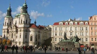 San Nicolás en Staré Město en Praha | Kilian Dientzenhofer | 1637