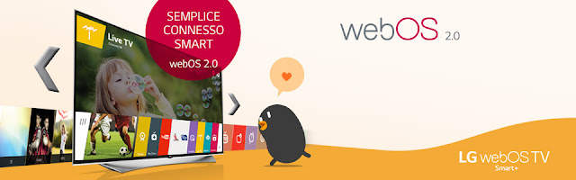 Come configurare webOS su Smart TV LG