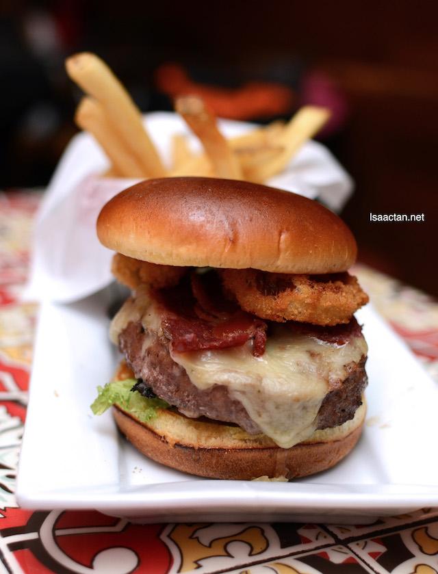 Sweet & Smokey Burger