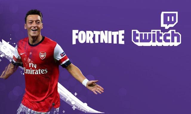 Mezut Özil se convierte en un streamer viciado al Fortnite