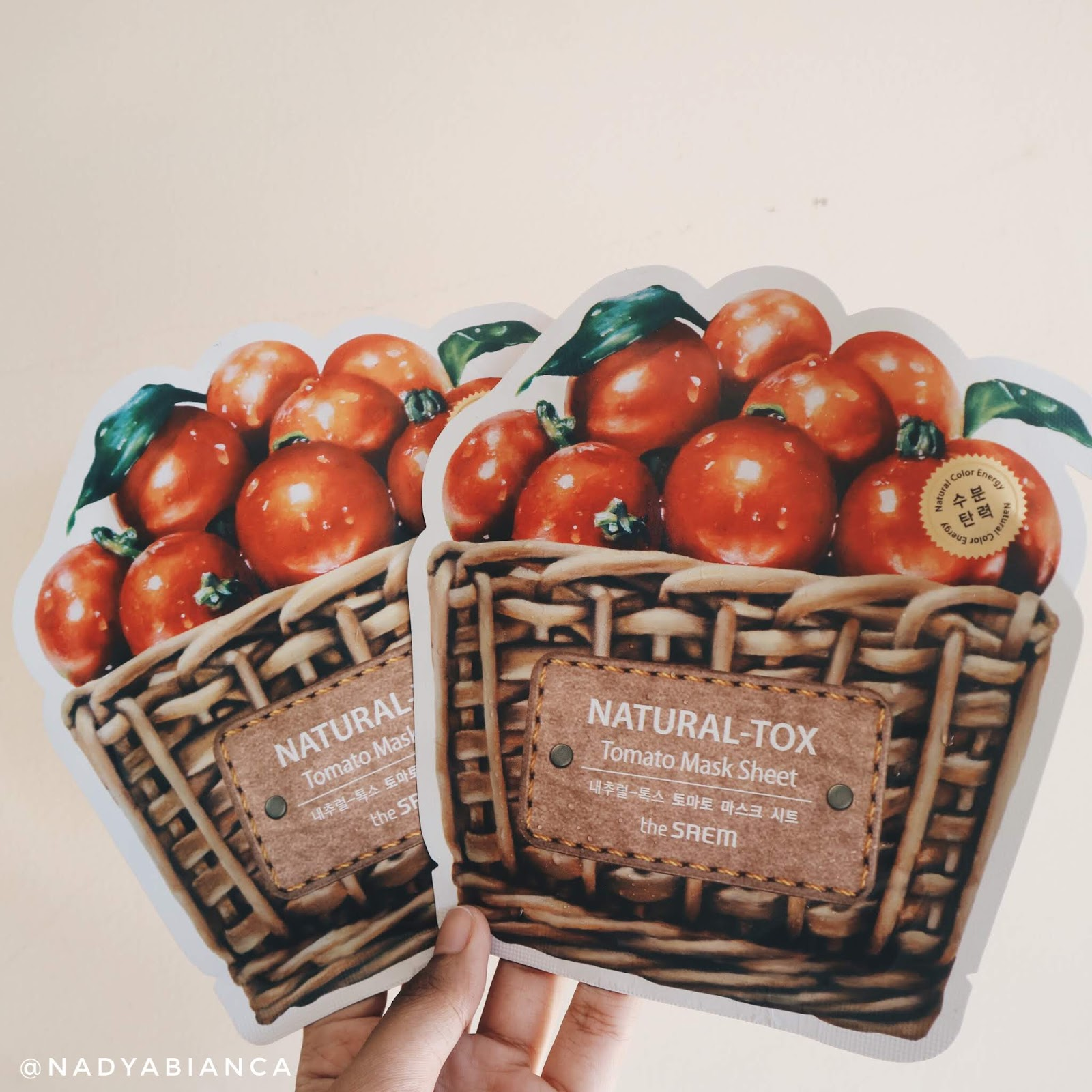 Ma Current Fave Sheet Masks The Saem Natural Tox Apple Mask Tomato