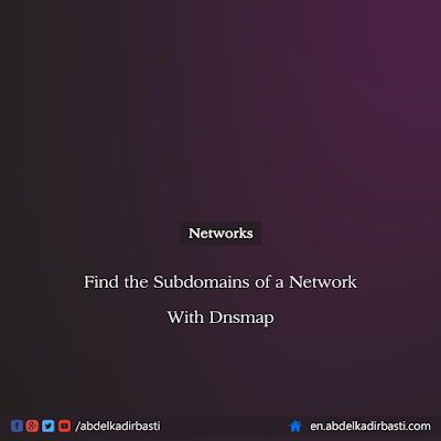 Find the Subdomains of a Network With Dnsmap