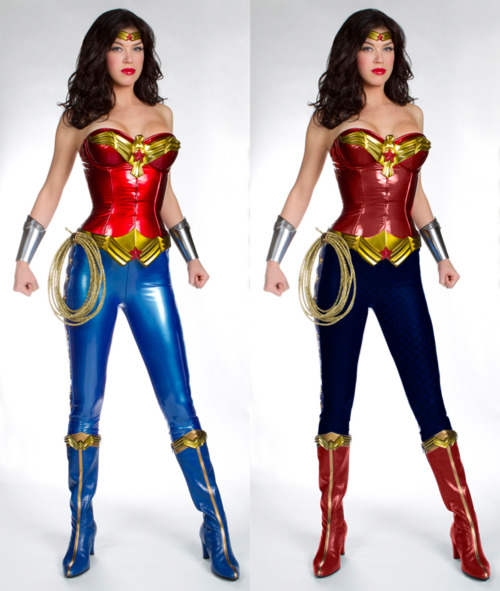 Super Punch Color Corrected Version Of The New Wonder Woman Costume