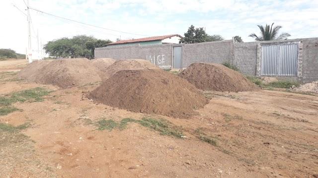 Obras de Pavimentação e Esgotamento Sanitário são iniciadas no Conjunto Francisco de Paula Arruda em Amparo