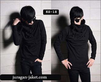 jas exclusive jaket hitam sk18