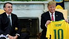 Trump acusa Brasil de desvalorizar câmbio e vai restaurar tarifas sobre o aço do país
