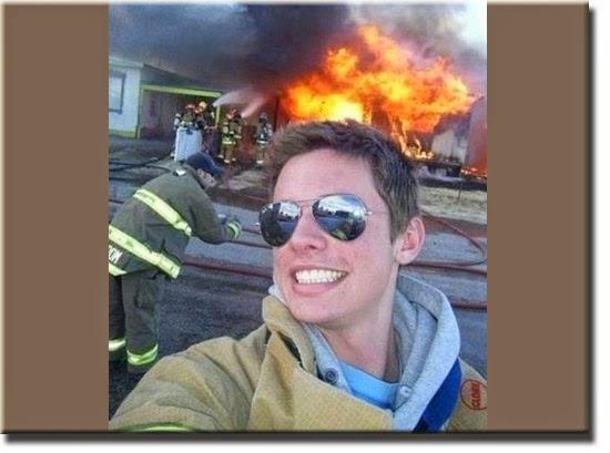 Fail - Selfie no Incêndio