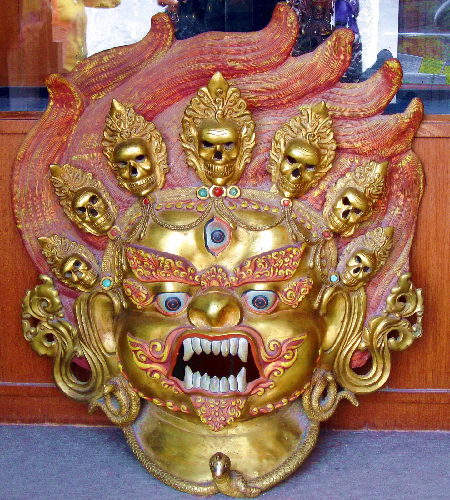 Everyday Exile Photojournalism from Tibet in Exile: Deity Masks