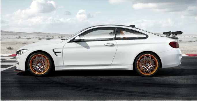 Bmw M4 Gts Looks Fantastic In White And Black