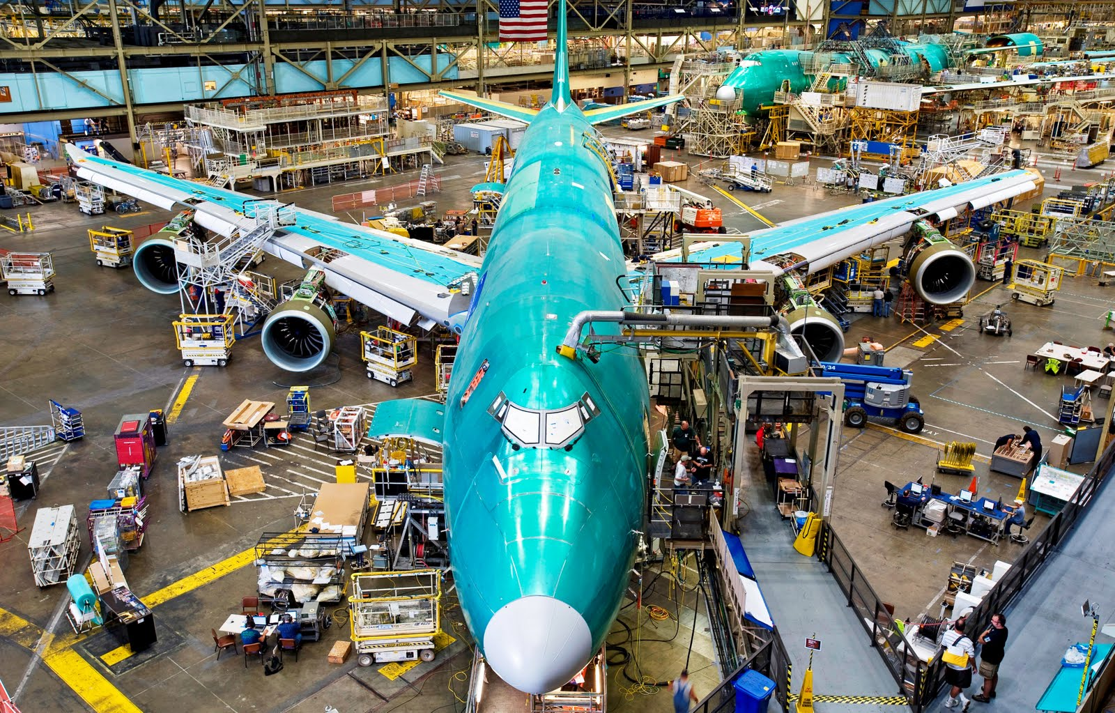 boeing 747 8 while manufacturing aircraft wallpaper 1837 aeronef net