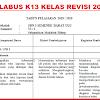 Silabus k13 Kelas 6 Revisi 2018 Semester Ganjil
