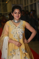 Nivetha Thamos in bright yellow dress at Ninnu Kori pre release function ~  Exclusive (14).JPG