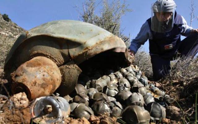 """Η Τουρκία """"καρφώνει"""" τη Ρωσία για φερόμενη χρήση βομβών διασποράς στη Συρία"""