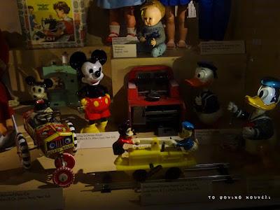 Παιχνίδια με ήρωες της Disney από τη δεκαετία του 50 / Disney toys from the 50's