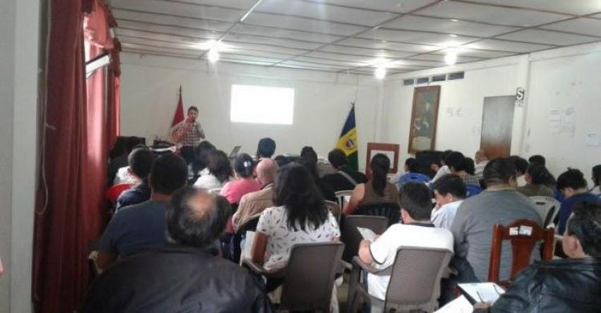 FONDEP: Equipos técnicos locales de Amazonas desarrollan talleres de sensibilización en innovación educativa - www.fondep.gob.pe