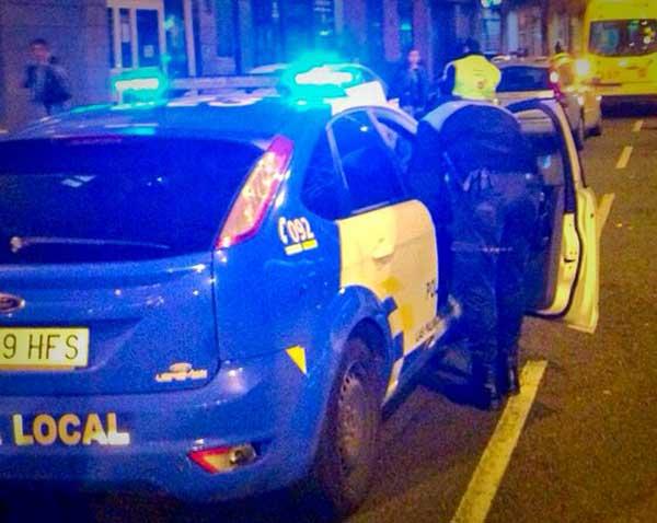 Persecución a un joven que robó un coche en Las palmas de Gran Canaria