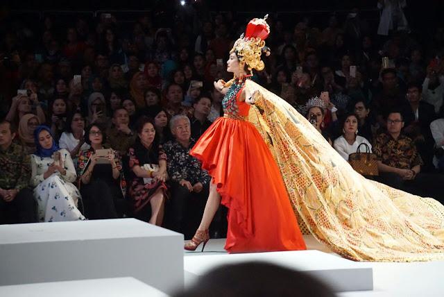 Batik sekar jagad Banyuwangi.