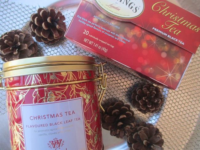 Christmas tea de Wittard  of Chelsea y el té de navidad de Twnings