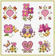 SAL PX - Lesley Teare - Simple Cross Stitch