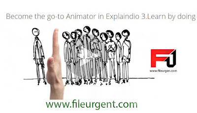 Become the go to Animator in Explaindio 3 Learn by doing