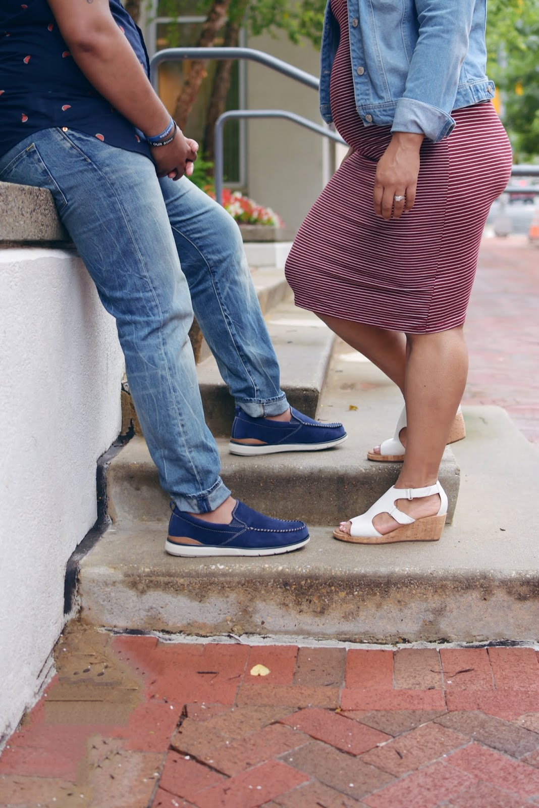 HIs and hers, clarks, zappos,spring shoes, summer shoes, parents to be, first time parents, mom blogger