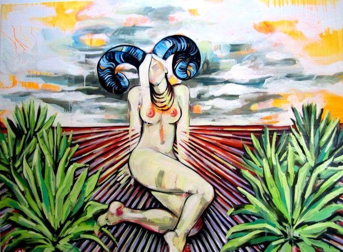 Мексиканский художник. Gretel Joffroy