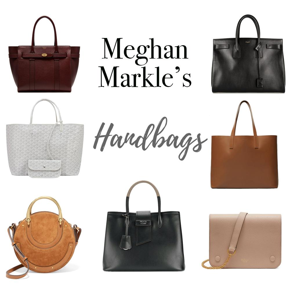 Plaid & Pearls: Steal Meghan Markle's Style: Handbags