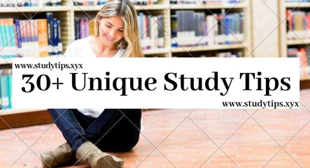 30+ unique study tips and hacks | Learning Tips