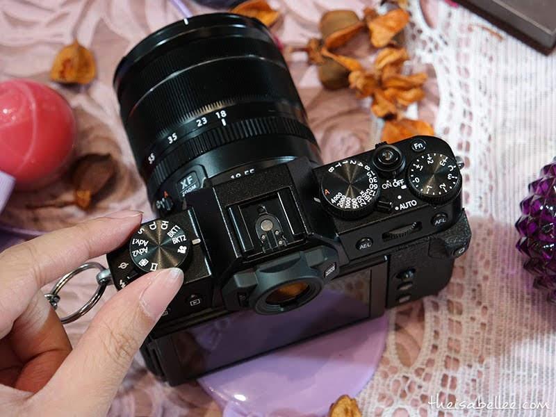 Fujifilm X-T30 top