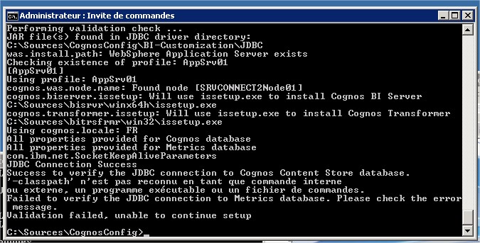 Ics Quest Classpath Is Not Recognized As An Internal Or