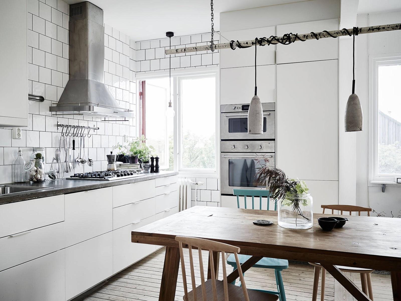 jak urządzić kuchnie w stylu skandynawskim