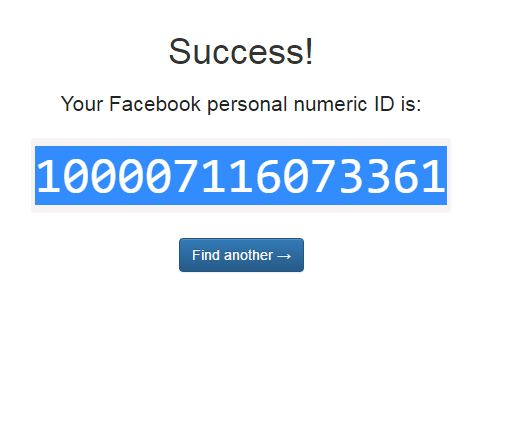 How To Find Your Facebook ID step 6