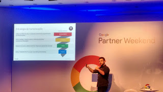 Segundo dia do Google Partner Weekend - Aula de Vendas com o Ted