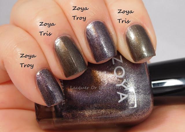 Zoya Troy vs. Zoya Tris