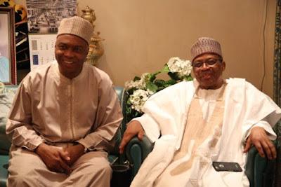 BREAKING: Saraki arrives Minna, meets Babangida