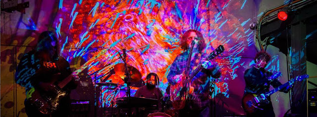 "The Spiral Electric spin tie dye psyche rock dreams on ""Wildflowers:"
