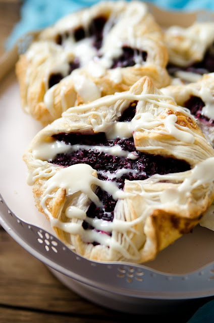 Chia Bumbleberry Pastries Recipe