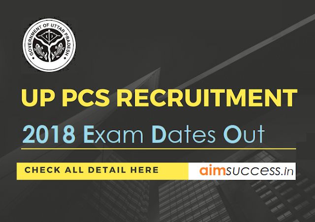 UPPSC PCS Mains 2018 Exam Dates Out : Check Now