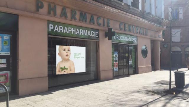 ecran-vitrine-pharmacie