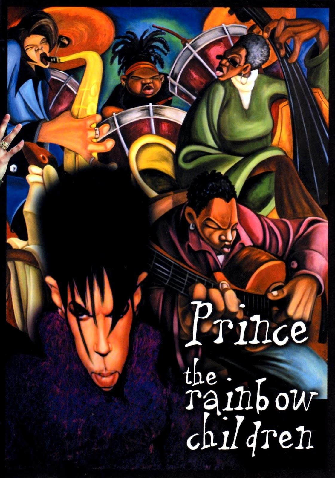 Prince NPG Press Photos (The Rainbow Children - 4Ever)