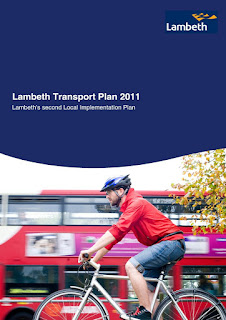 Lambeth Transport Plan cover on lambethcyclists.org.uk
