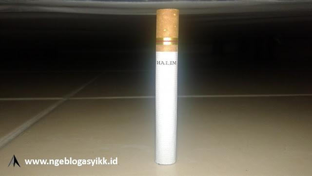 per batang rokok halim