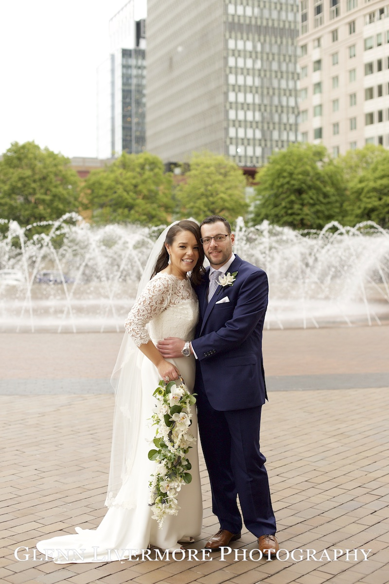 Gorgeous wedding at the Cyclorama Boston with Rebecca and Roman