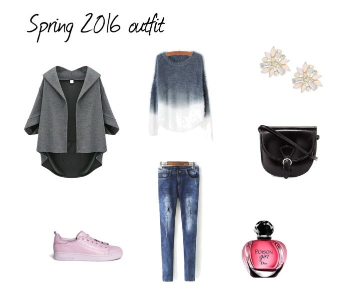 Przyciągamy wiosnę - stylizacja z odcieniami różu :)