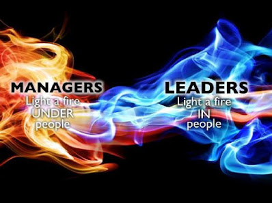 Understand the difference between a manager and a leader, to lead people.