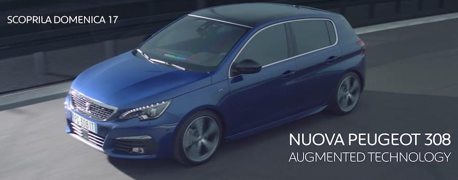 Canzone Pubblicita nuova Peugeot 308 2017 e Spot Augmented Technology