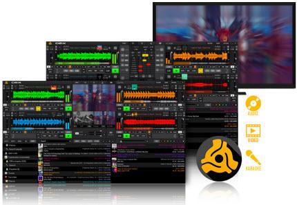 تحميل برنامج الدي جي وخلط الأصوات الرهيب PC DJ DEX 3.7.5.0